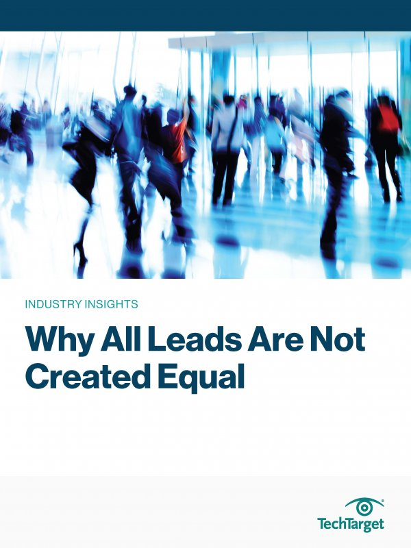 review of lead providers - white paper