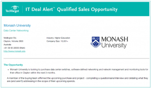 qualified sales opportunities real purchase intent insight DC