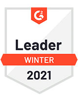 G2 2021 winter leader badge
