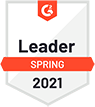 G2 2020 spring leader badge