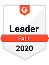 G2 2020 fall leader badge